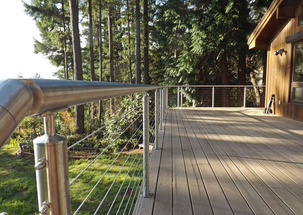 Round Stainless Railing Systems Gallery | Cable Railing ...