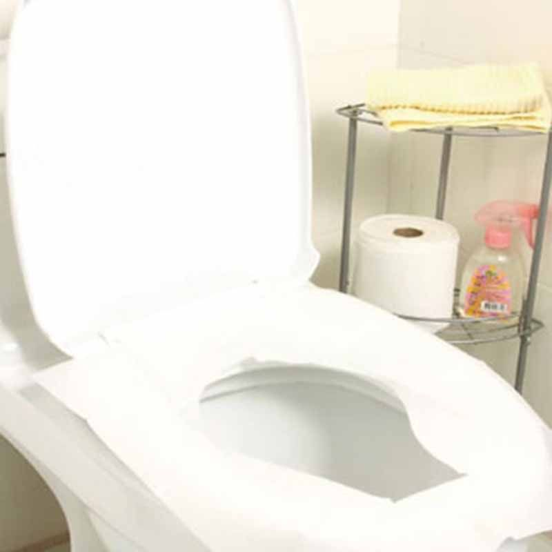 New Arrive 10pcs Lot Travel Disposable Toilet Seat Cover Mat 100