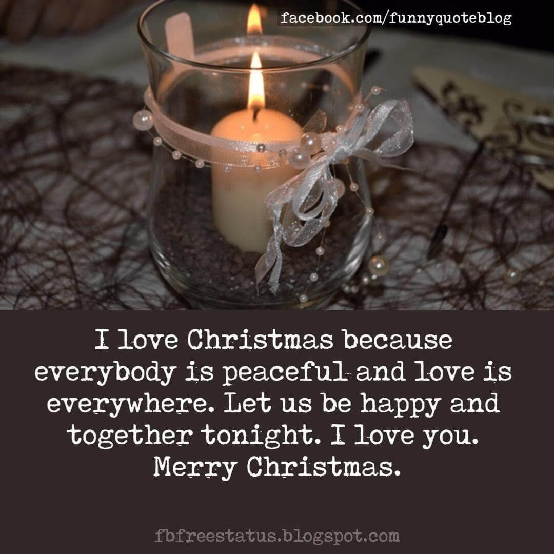 Perfect Christmas Love Messages,Quotes for Girlfriend and Boyfriend ...