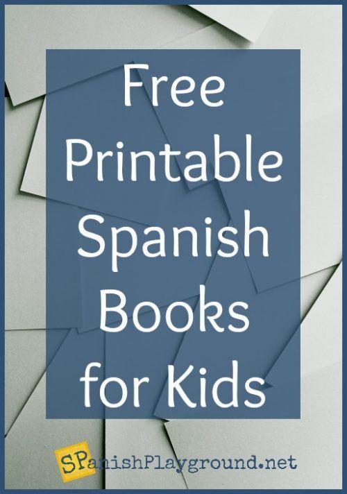 Free Printable Spanish Books for Kids - Spanish Playground