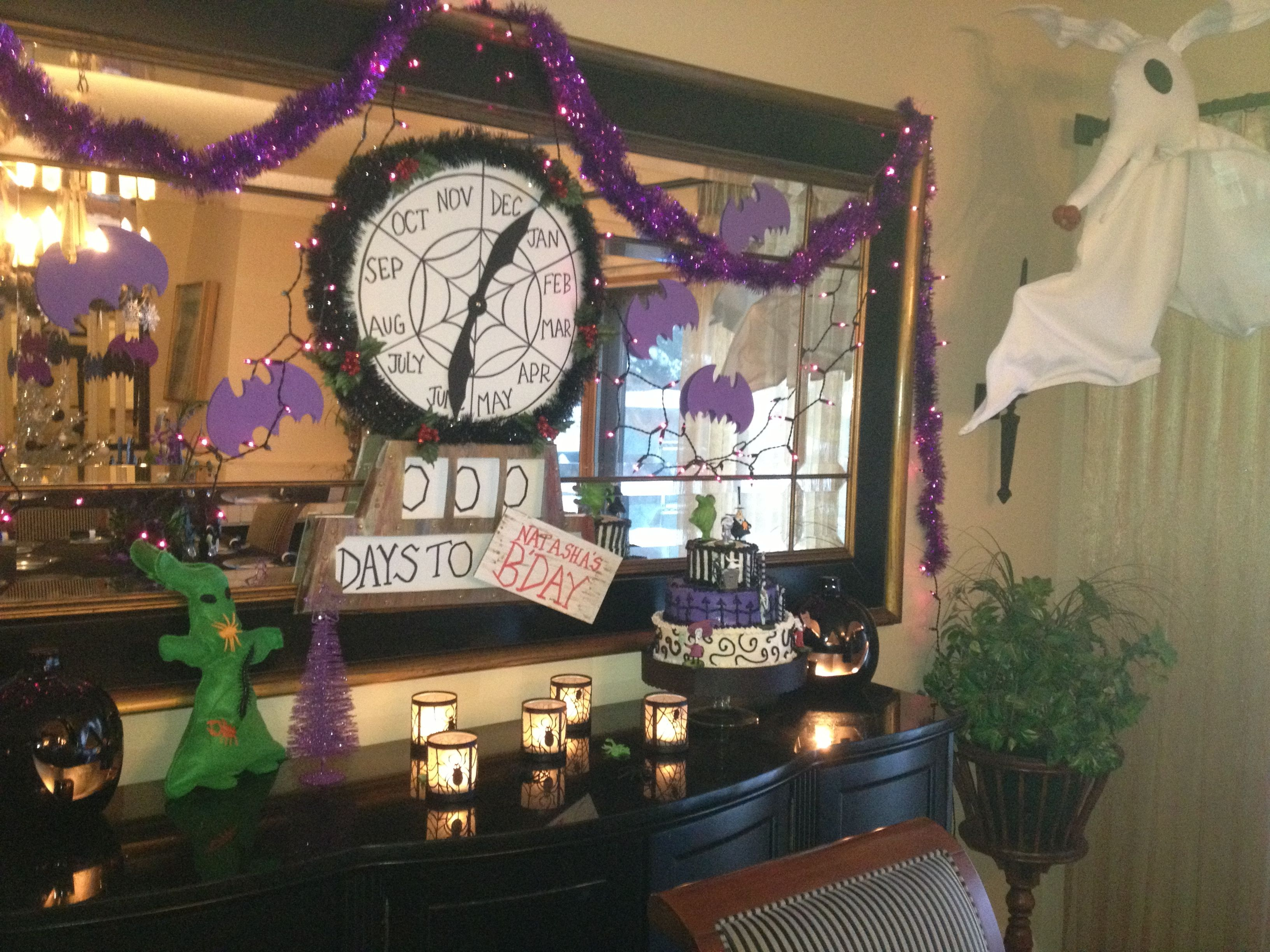 Nightmare Before Christmas party | Halloween | Pinterest | Birthdays ...