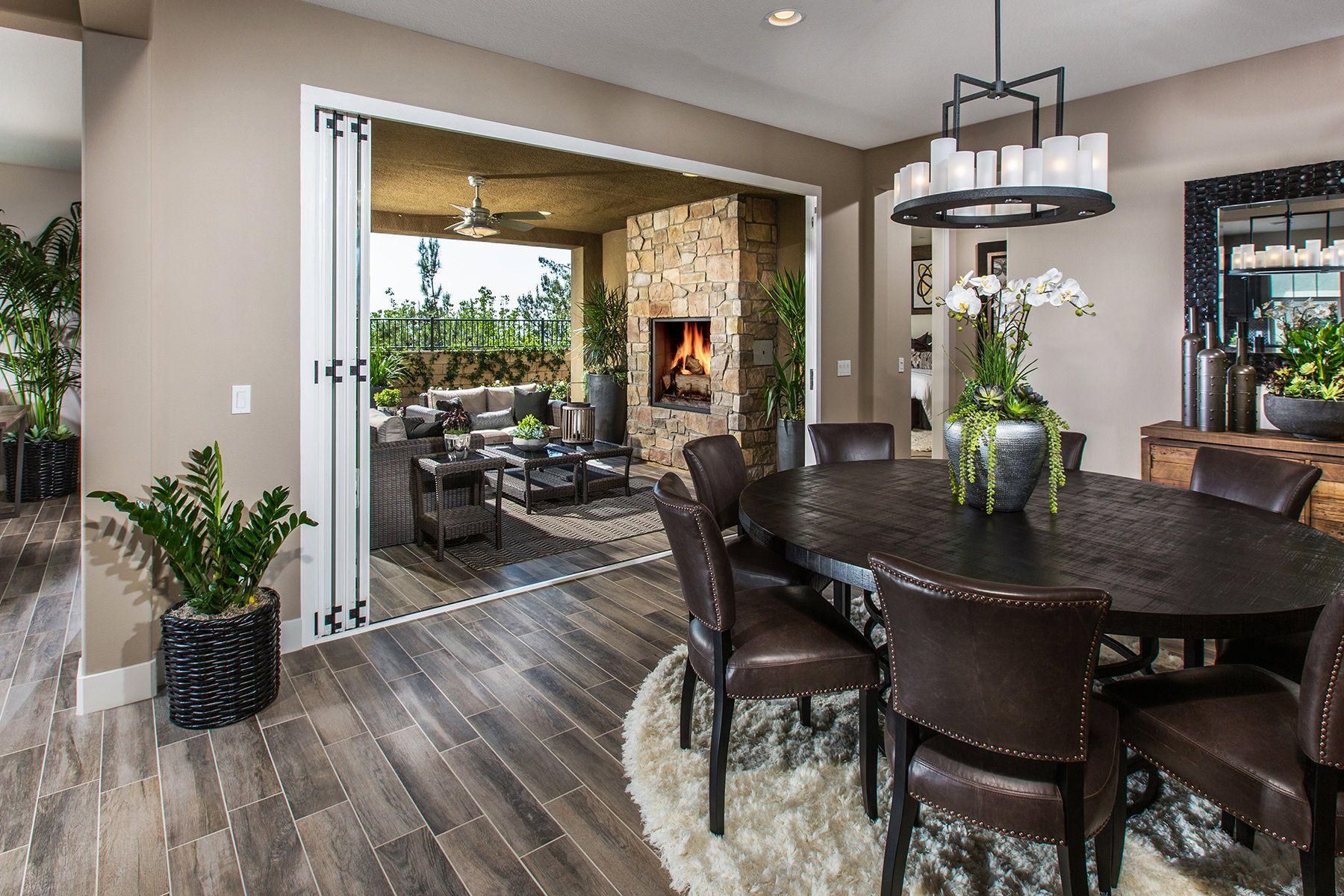 Ambrosia Interior Design California Room Home House Floor Plans
