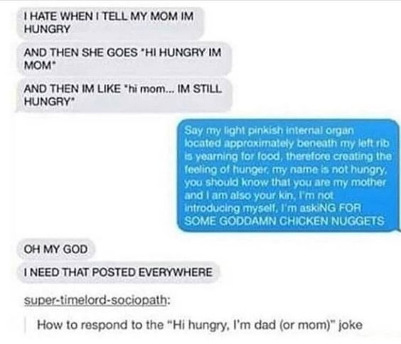 23 Hilarious Funny Texts and messages clean dunk