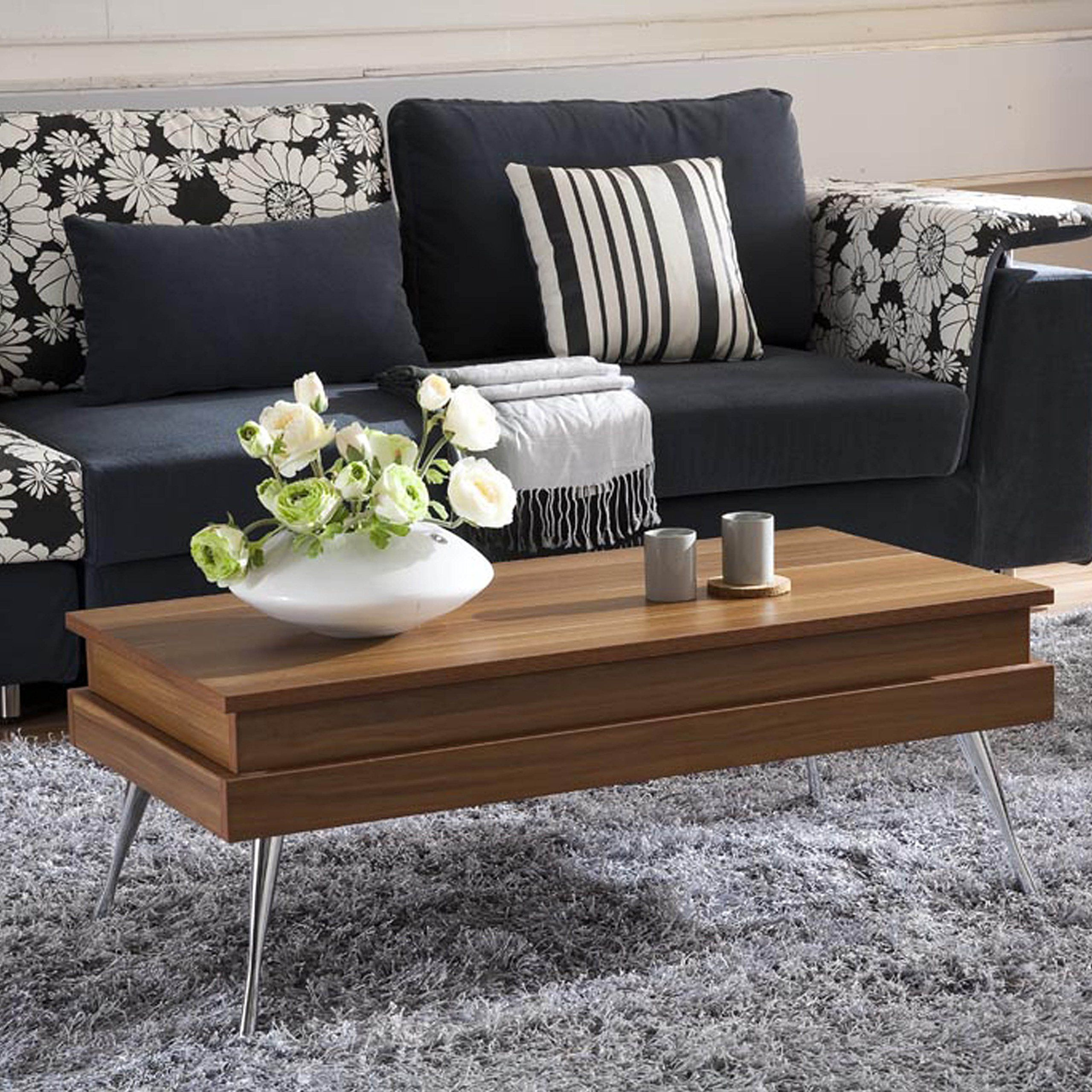 Mix Laminate Wood Chrome Legs Walnut Lifttop Rectangular Coffee Table With Hidden Storage To View Furth Coffee Table Wood Coffee Table Lift Top Coffee Table [ 2560 x 2560 Pixel ]