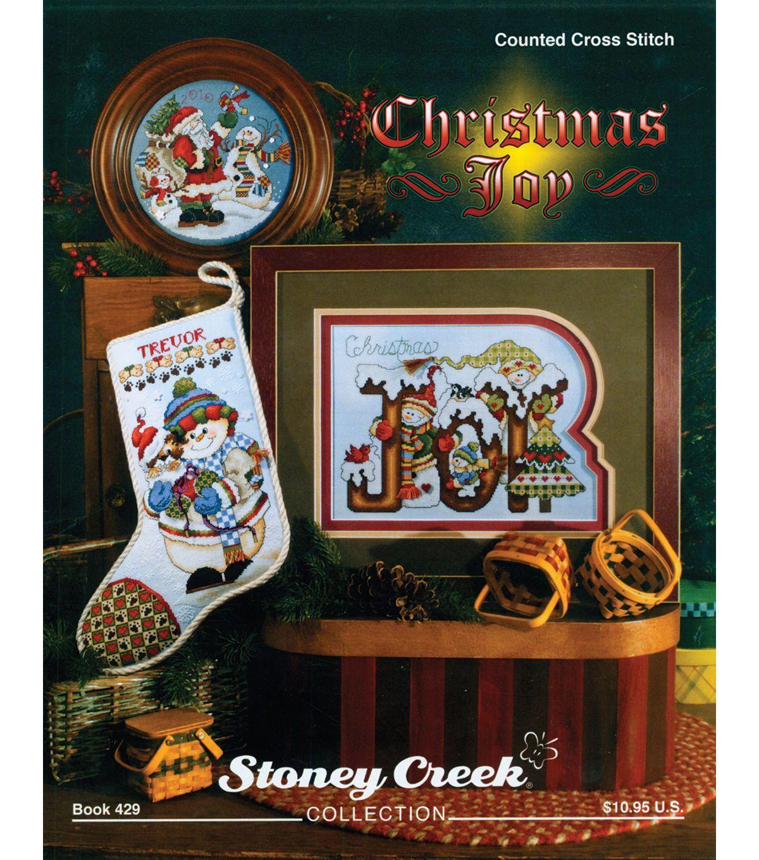Stoney Creek-Christmas Joy Book | Cross stitch | Pinterest ...