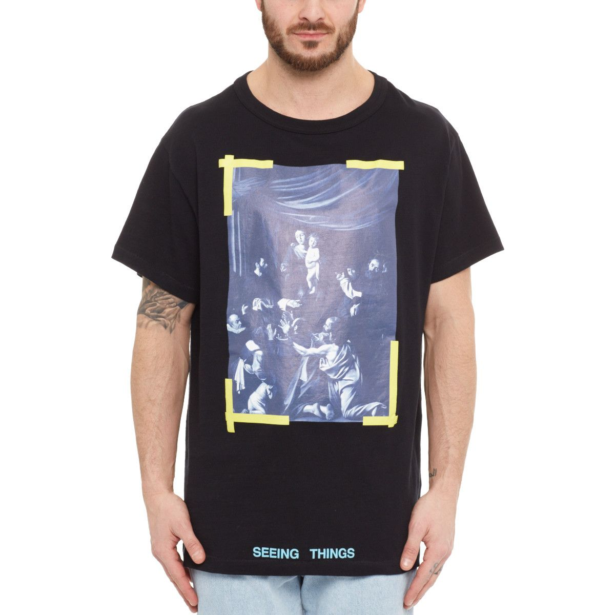 289f5d7e Caravaggio t-shirt from the F/W2017-18 Off-White c/o Virgil Abloh collection  in black