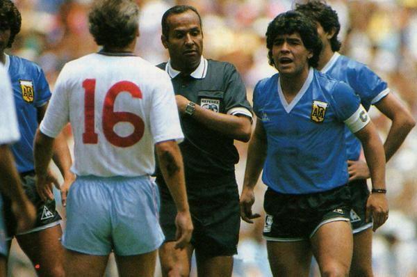 Diego Maradona 1986 World Cup Vs England Seleccion Argentina De Futbol Diego Maradona Leyendas De Futbol