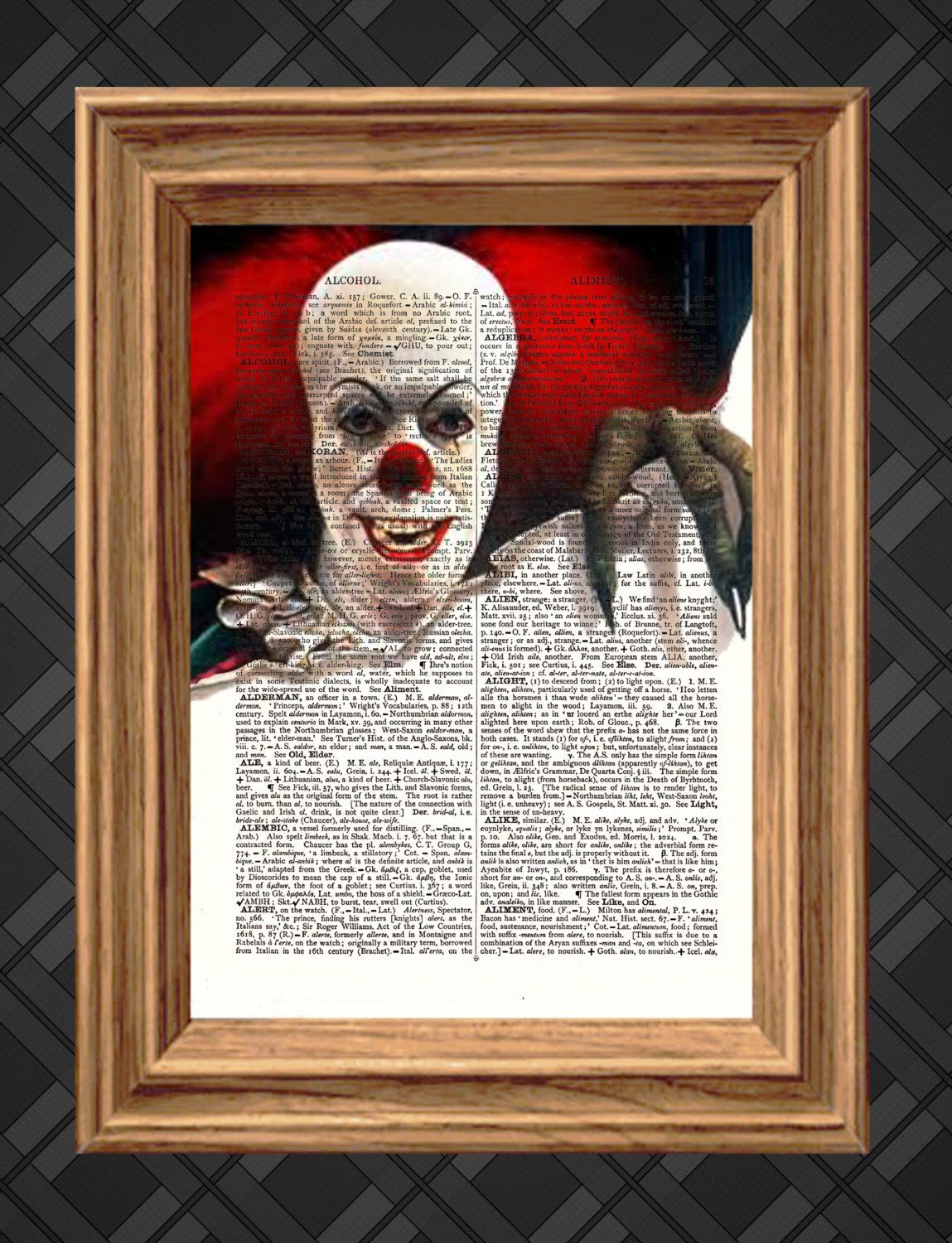 IT Clown Pennywise Poster or Canvas Art Print No frame