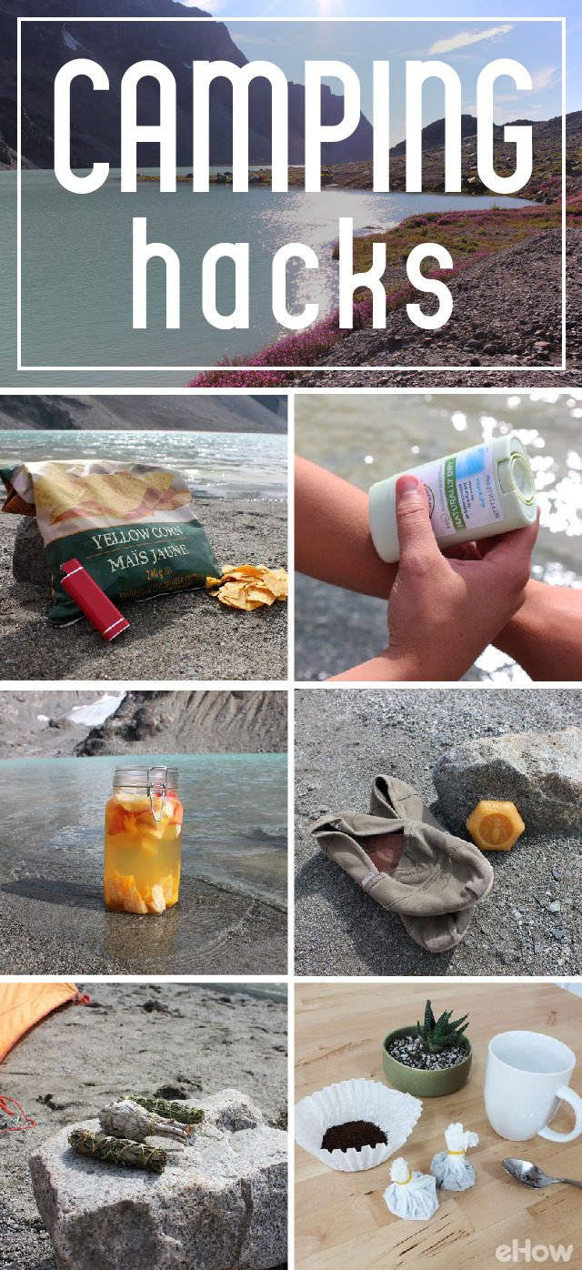 Camp Like a Pro With These DIY Hacks | Camping supplies ...