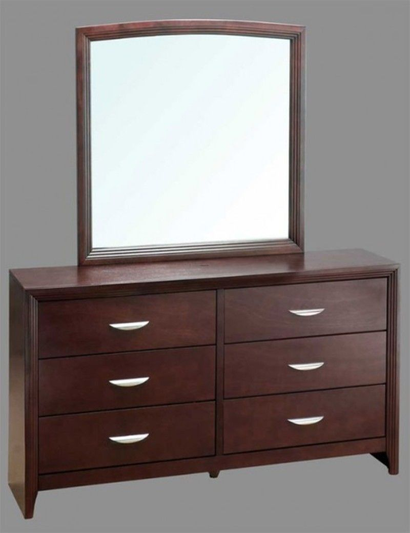 Modern bedroom dresser with mirror - Dresser With Mirror Drawers