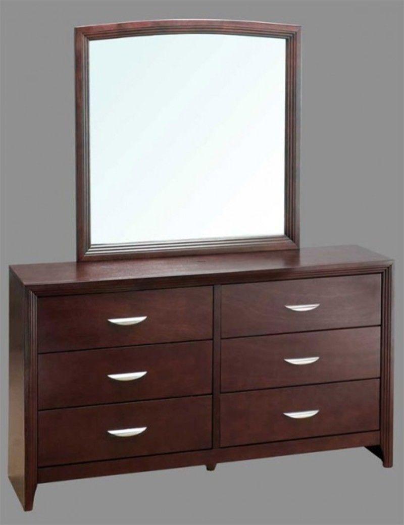 Dresser with Mirror Drawers | Drawer Dressers | Pinterest ...