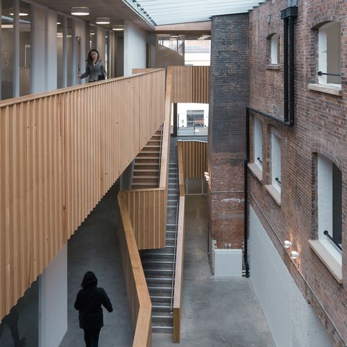 Social Justice Centre Renovation Architecture Factory Architecture Architecture