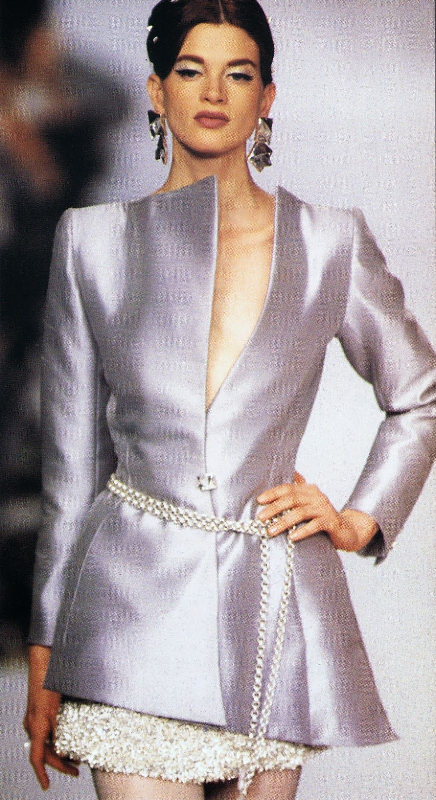 KRISTEN MCMENAMY Lanvin Show S/S 1991