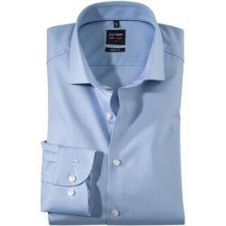 Photo of Olymp Level Five Shirt, körperbetont, extra langer Arm, Bleu, 43 Olympolymp