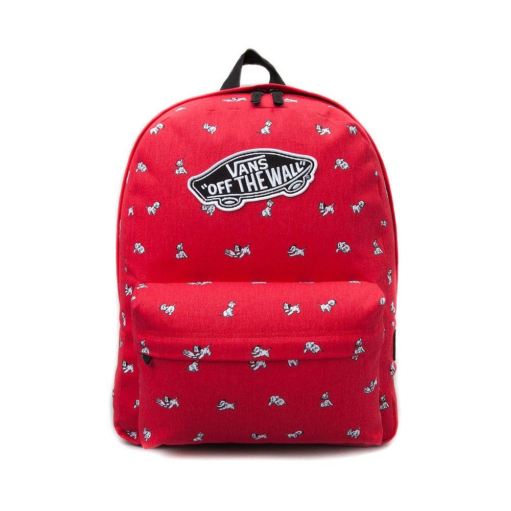 bcabf756313 Vans Realm 101 Dalmatians Backpack