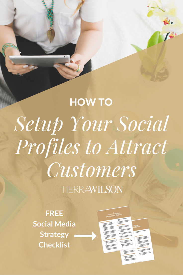 How To Setup Your Social Media Profiles To Attract