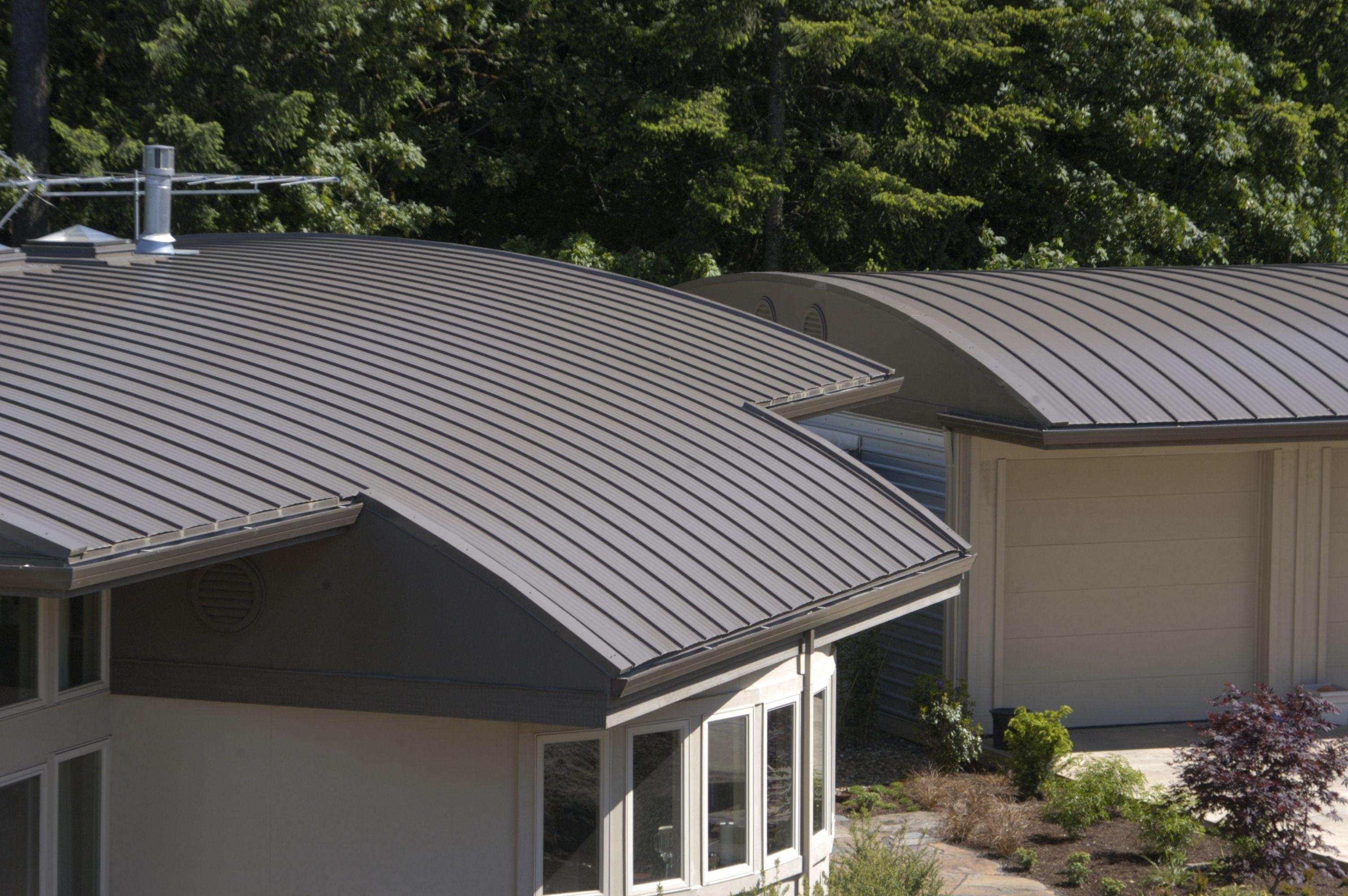 Standing Seam Custom Bilt Metal Roofing System Http Www Facebook Com Anrroofingsolar Metal Roofing Systems Metal Roof Corrugated Roofing