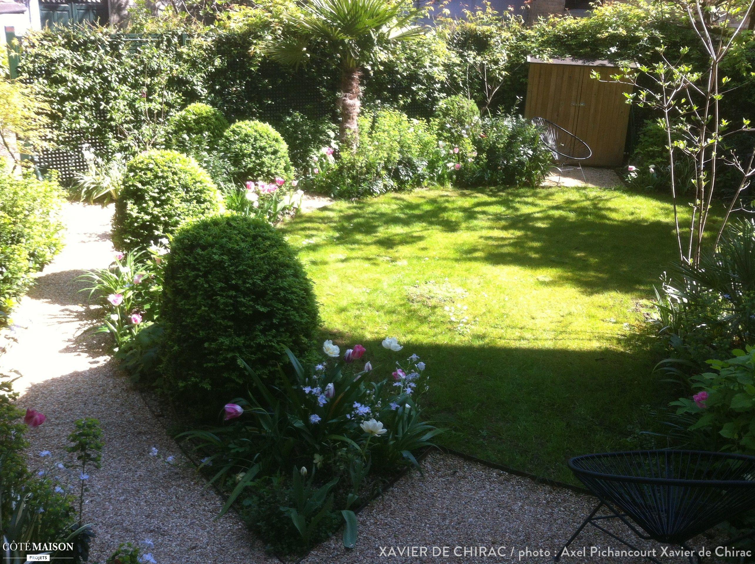 Jardin en Ville Xavier De Chirac C´té Maison