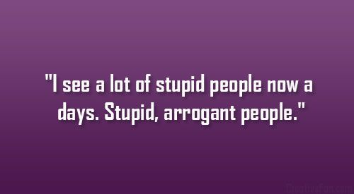 Dumb People Annoy Stupidity Quotes Jobspapa Com Stupid Quotes Stupid People Quotes Dumb People