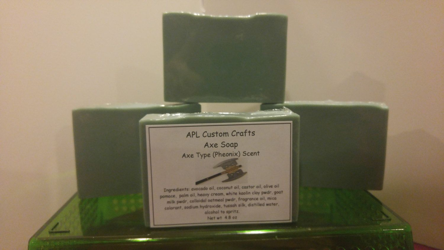 Axe soap -  Axe (Phoenix)  type scent   (like the cologne) by APLcustomcrafts on Etsy