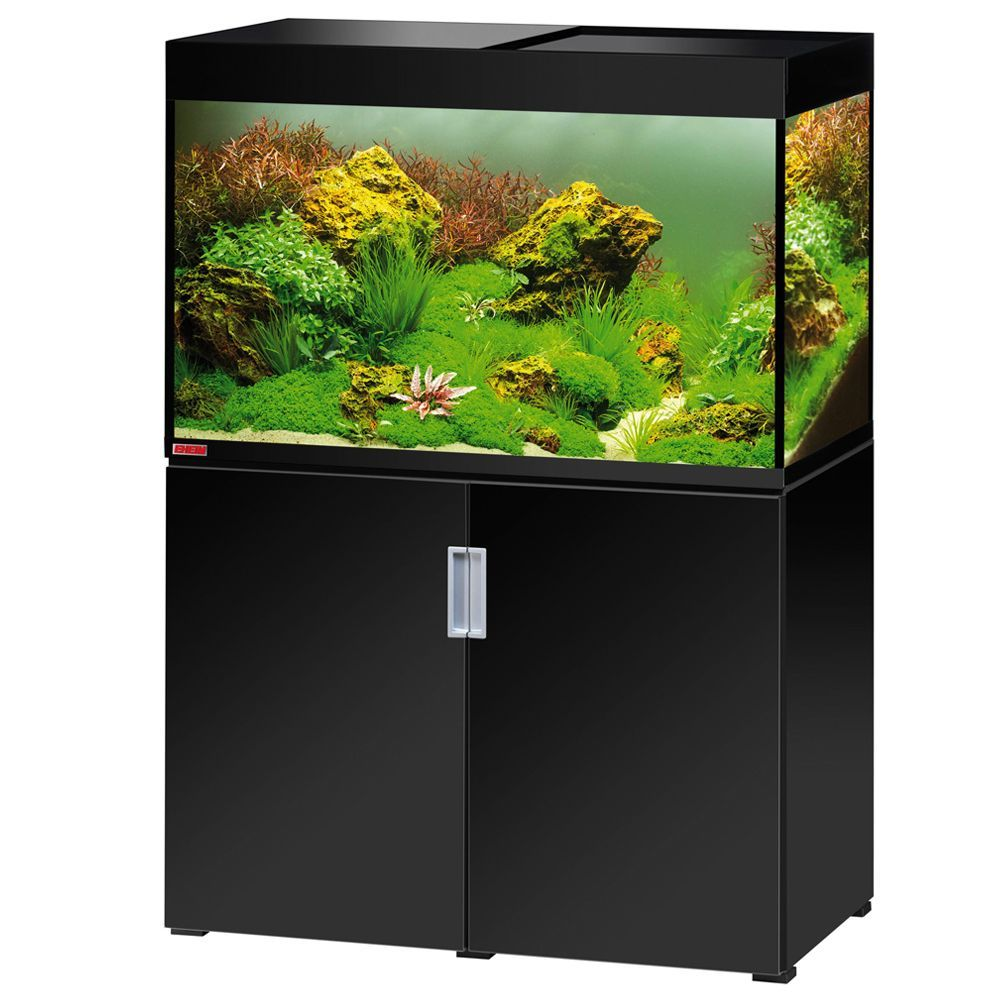 Animalerie Ensemble Aquarium Sous Meuble Eheim Incpiria 300 Blanc  # Meuble Tv Aquarium