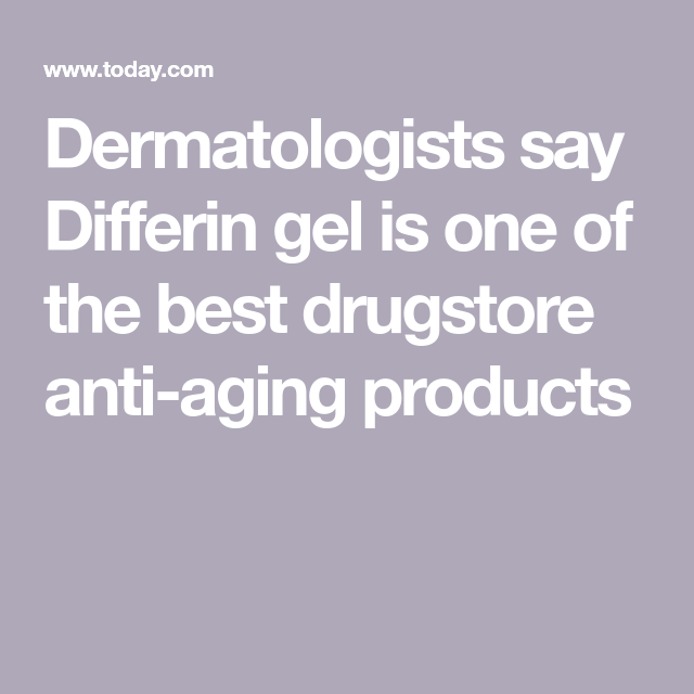 Dermatologists Say This 13 Gel Is One Of The Best Drugstore Anti