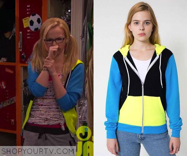 6afa747a2f Liv   Maddie  Season 2 Episode 8 Maddie s Color Block Hoodie