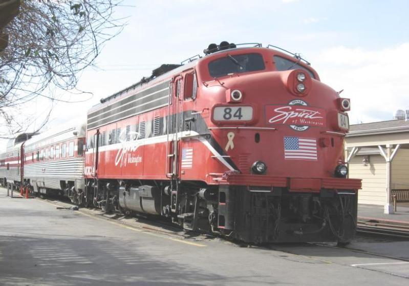 The spirit of washington dinner train