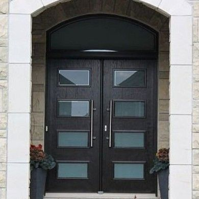 Modern Contemporary Front Entry Wood Doors With Transom Double Front Doors Contemporary Front Doors Double Front Entry Doors