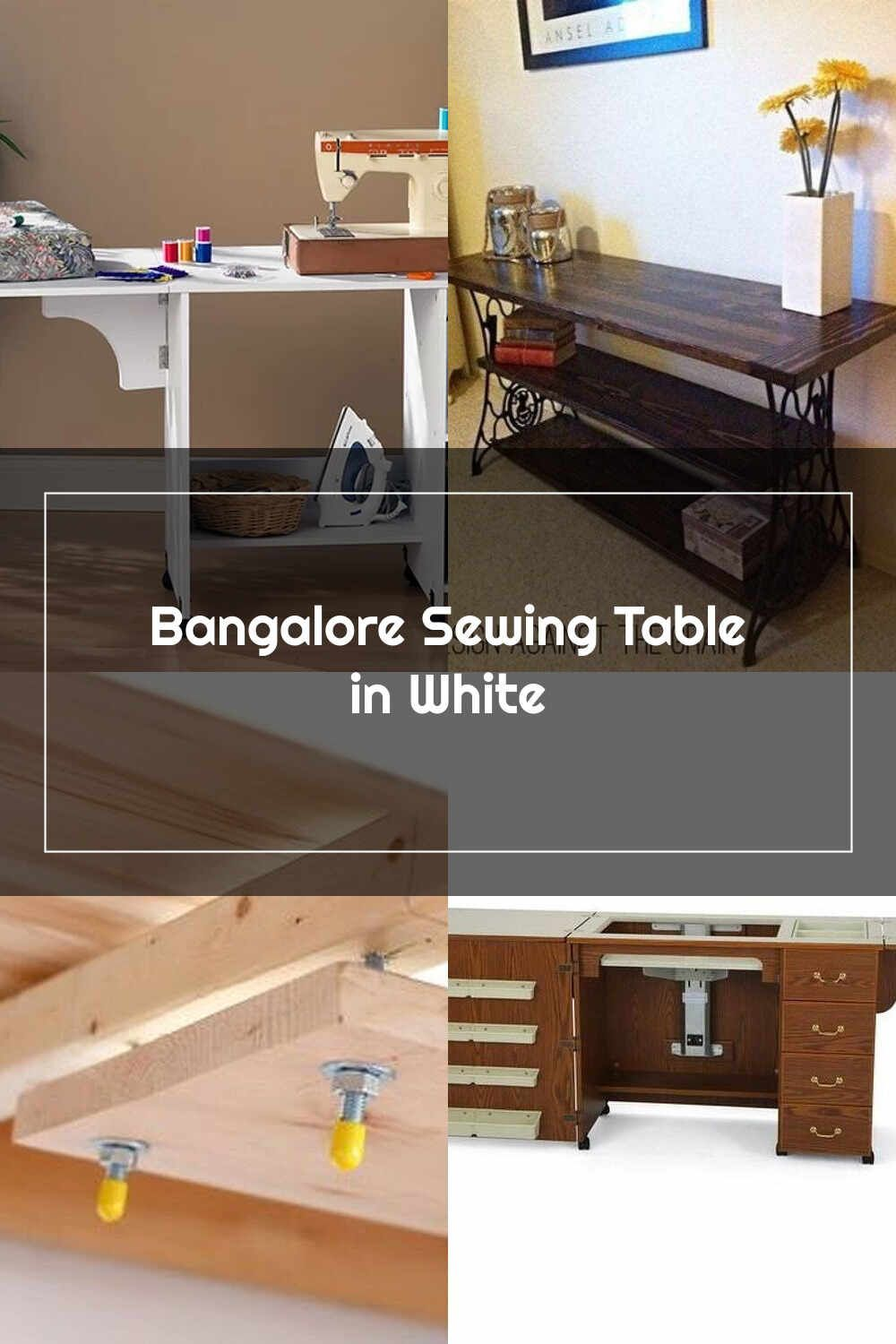Sewing Tables Bangalore Sewing Table In White Sewing Table Wildon Home Table