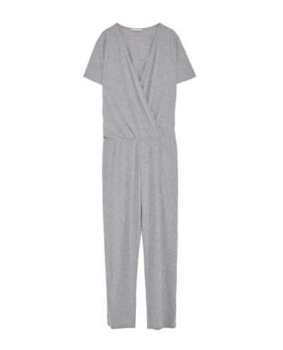 FLOWING CROSSOVER JUMPSUIT-JUMPSUITS-WOMAN | ZARA United States
