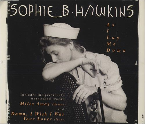 """For Sale - Sophie B Hawkins As I Lay Me Down UK  CD single (CD5 / 5"""") - See this and 250,000 other rare & vintage vinyl records, singles, LPs & CDs at http://eil.com"""