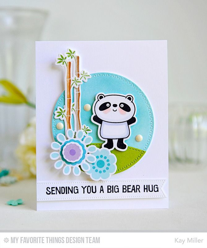 Mft June Release Countdown Day 1 Card Making Art Panda Card Cards Handmade