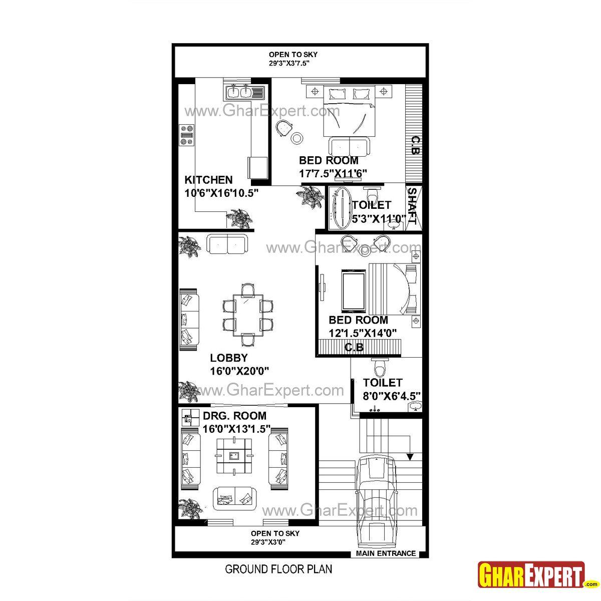 30 x 45 house