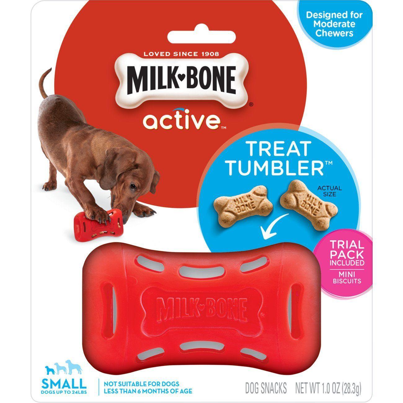 Milk Bone Active Interactive Treat Dispensing Dog Toy Gift
