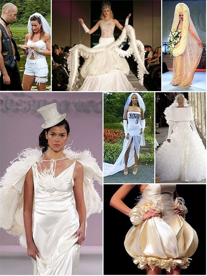 images of the UGLIEST wedding gowns ever - Google Search | The most ...