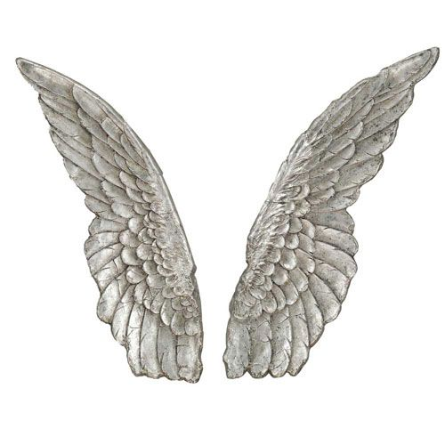Wings Wall Decor angel wings wall decor, set of two | home decor | pinterest