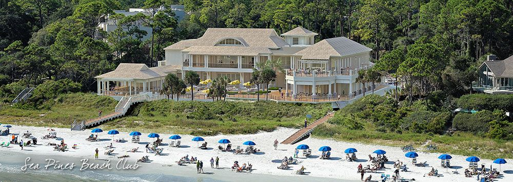 Sea Pines Wedding Beach Club Reception Venues