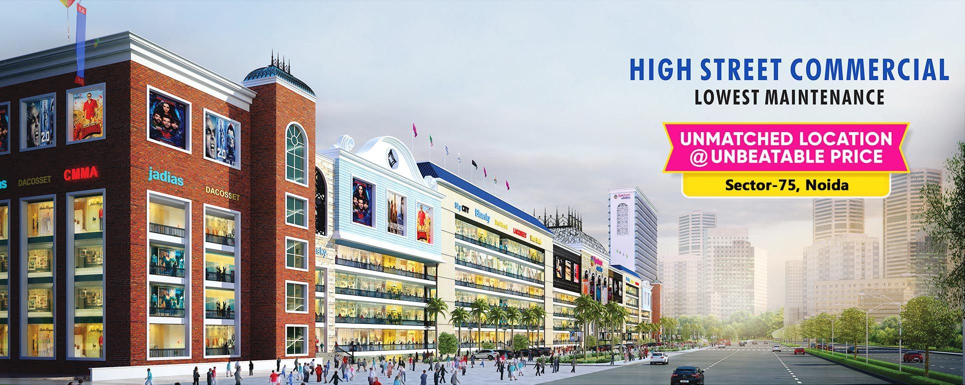 Spectrum Metro Phase 2 Noida is a complete commercial