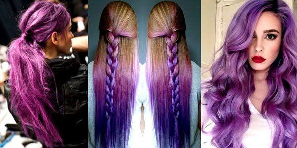 Wonderful Shades of Purple Hair!!!