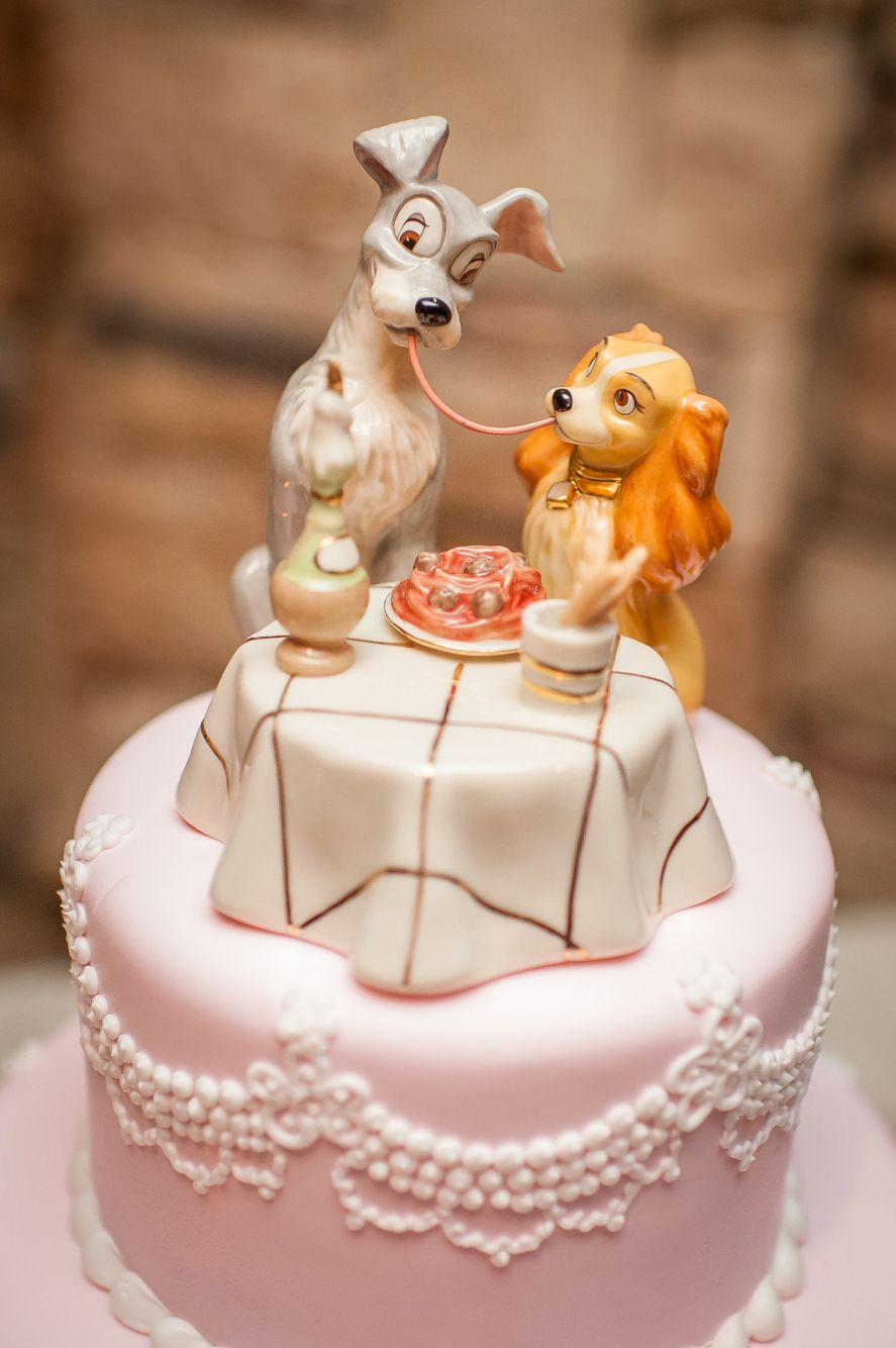 Lady And The Tramp Cake Topper Disney Wedding Cake Toppers Disney Cake Toppers Disney Wedding Cake