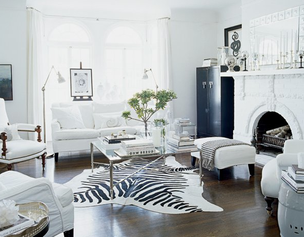 White Living Rooms Black And Room Decor Ideas