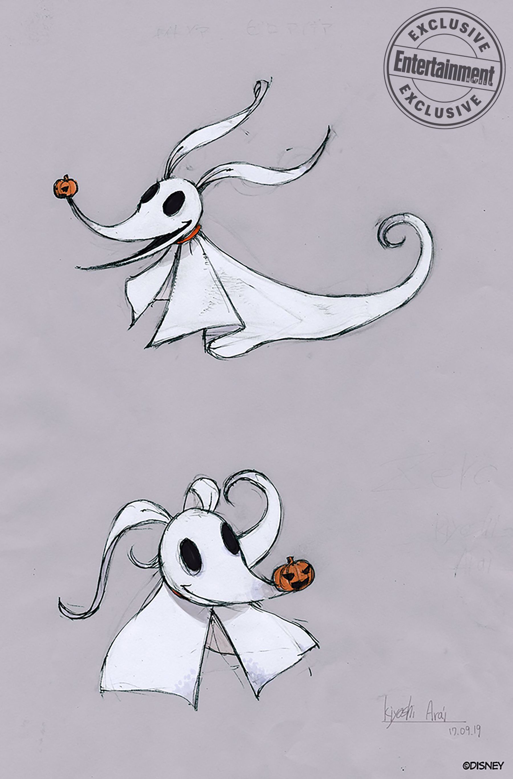 Jack and Zero get redesigned for 'Nightmare Before
