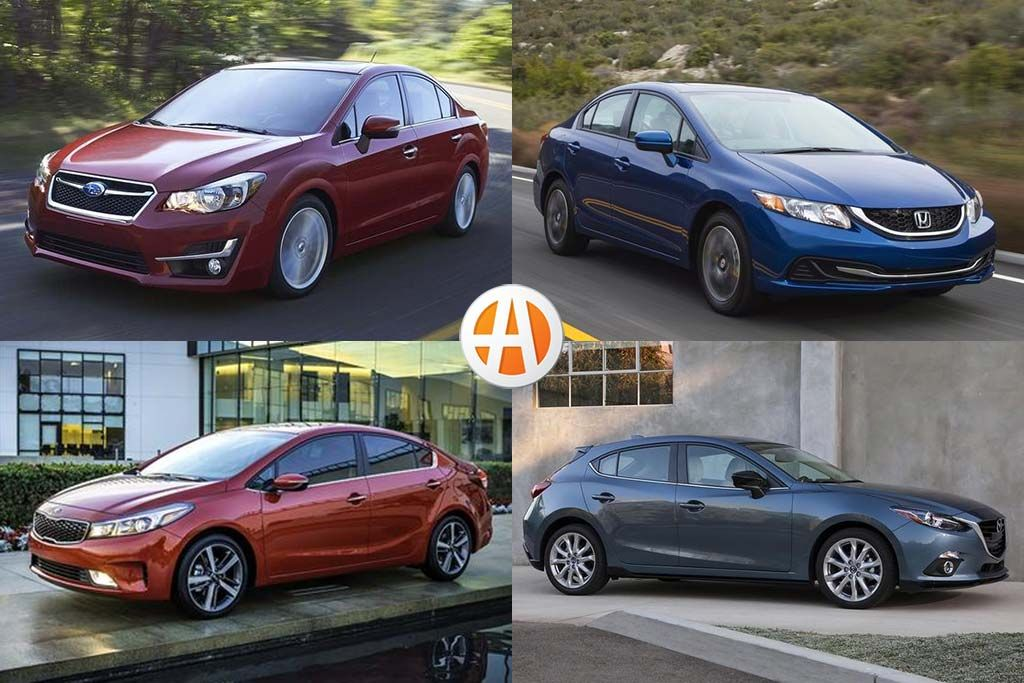 7 Good Used Compact Cars Under 10,000 for 2020