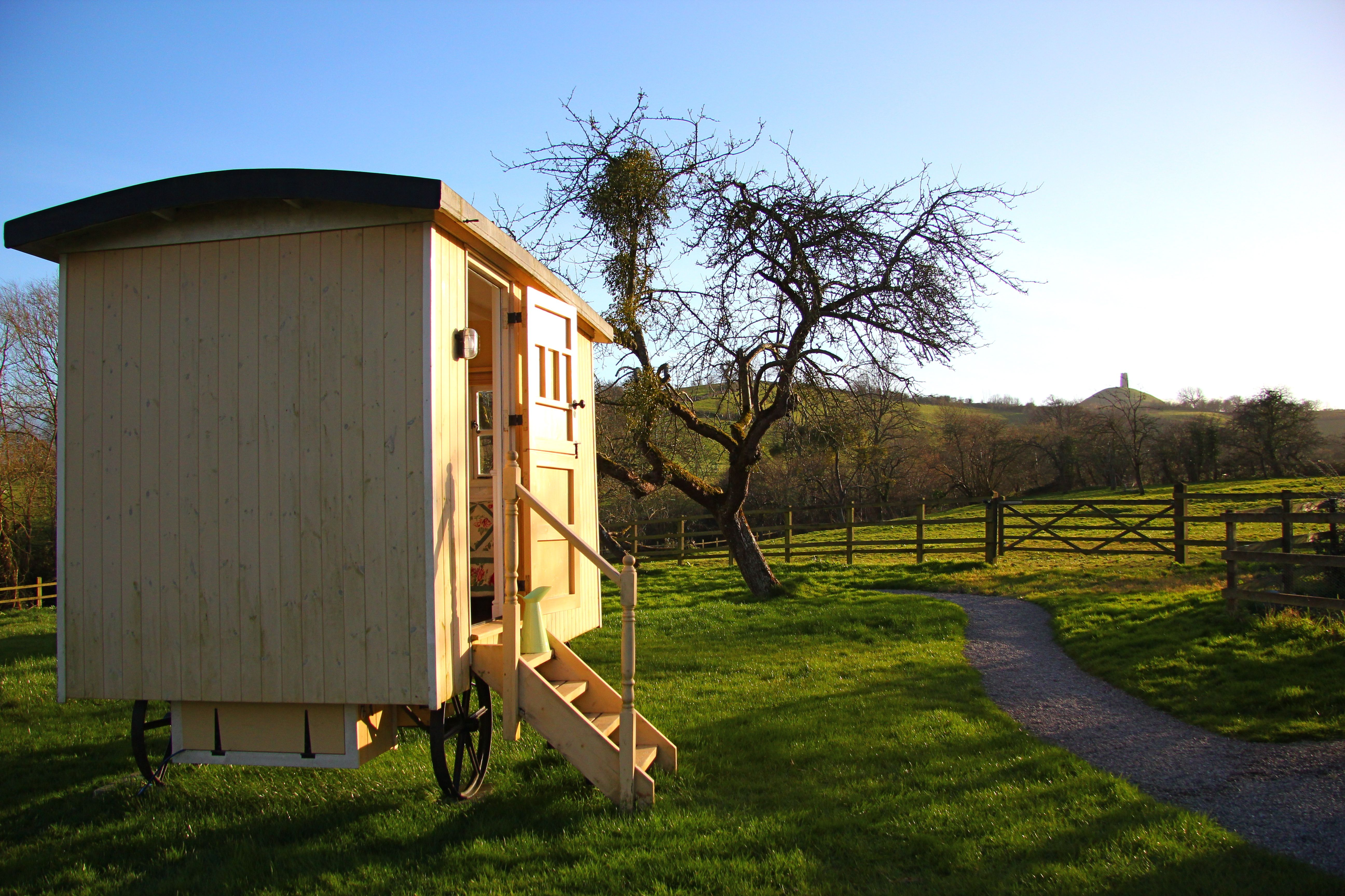 The Shepherds Hut - tor view   Cottage, Outdoor structures ...