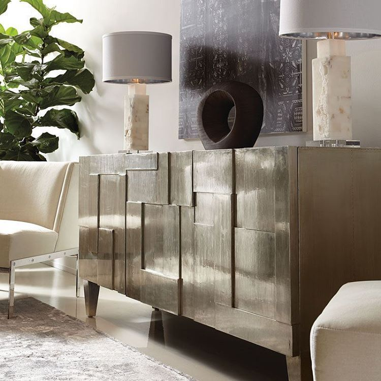 That Is A Beautiful Sideboard Metallic Sideboard Casamodernopalmsprings Muymoderno Quechic Berh Office Furniture Design Furniture Cheap Office Furniture