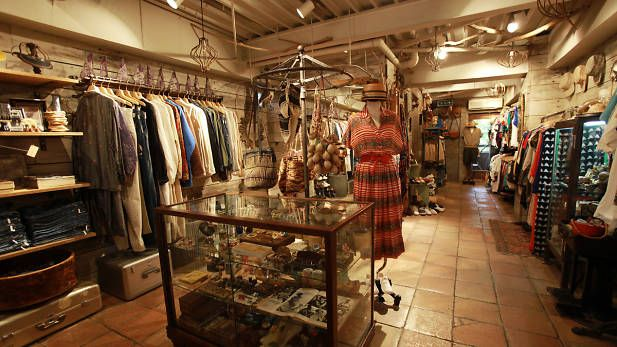 Best Vintage Stores In Tokyo Tokyo Shopping Vintage Store Second Hand Clothing Stores