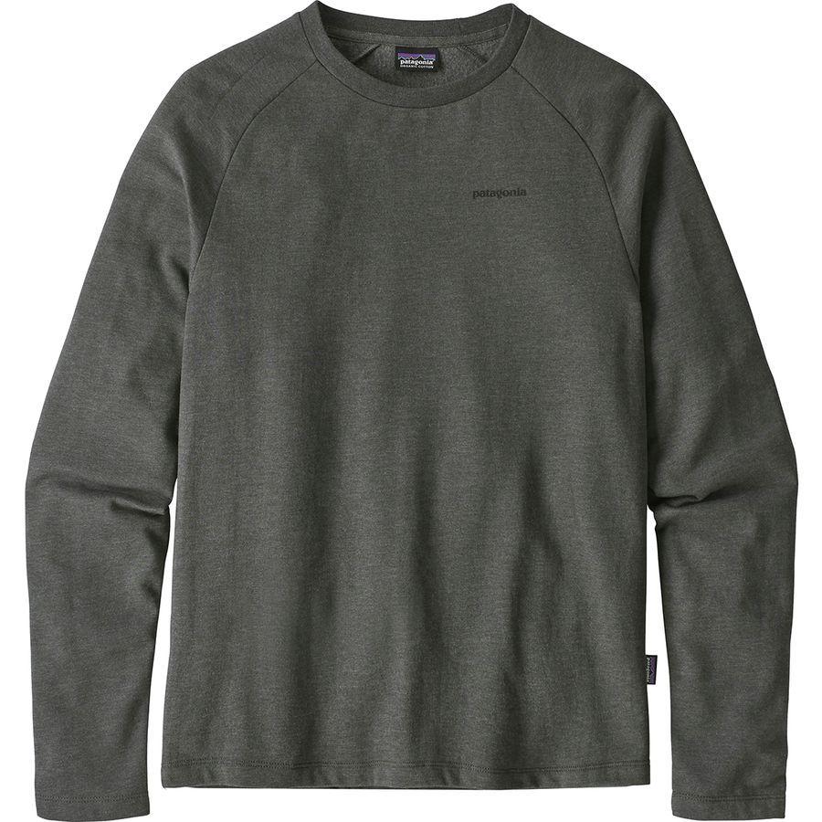 Patagonia P 6 Logo Lightweight Crew Sweatshirt Men S Mens Sweatshirts Crew Sweatshirts Patagonia Mens [ 900 x 900 Pixel ]