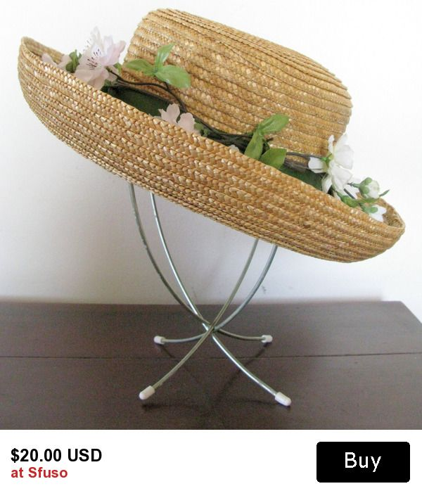 ef41d20801d Vintage Straw Hat
