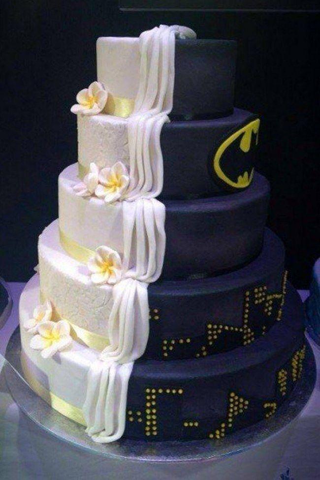 Matrimonio Tema Marvel : Torte nuziali originali da cui prendere ispirazione per